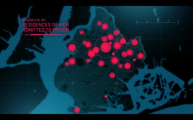 The Human Face of Big Data   Prison Geography