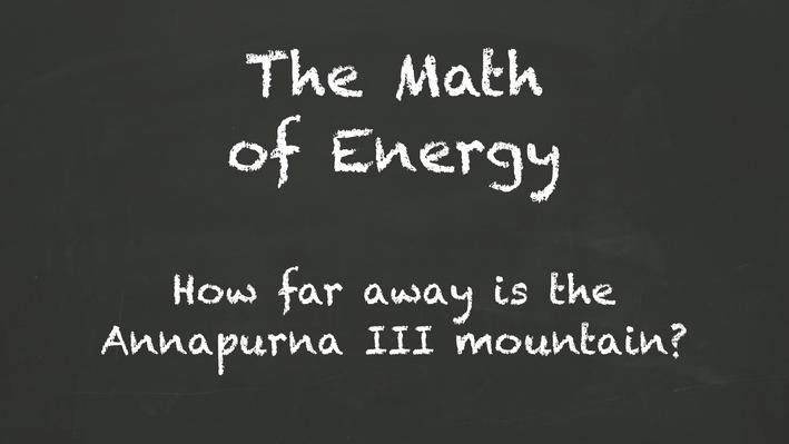 The Math of Energy | Distance & Potential Energy