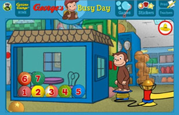 Monkey Jump - Curious George | PBS KIDS Lab