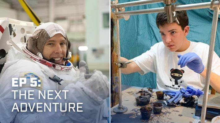 NASA Astronaut Talks Future of Technology With Robotics Student