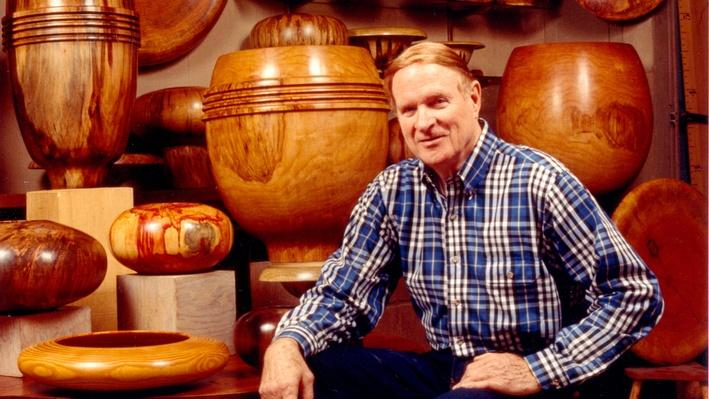 Ed Moulthrop with His Woodturnings | Craft in America