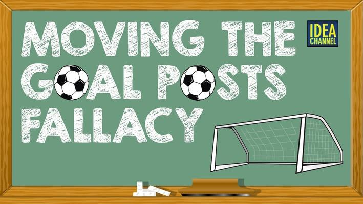 Moving the Goal Posts Fallacy | PBS Idea Channel