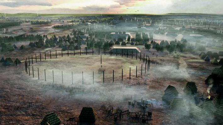 The Solar Calendar of Woodhenge in Cahokia | Native America: Cities of the Sky