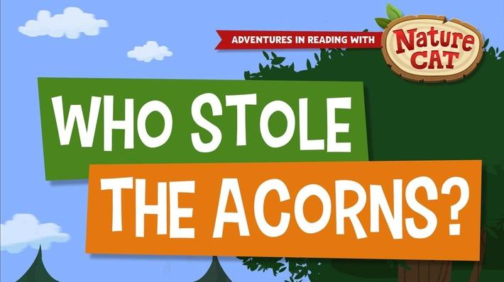 Nature Cat | Who Stole the Acorns? | PreK-K