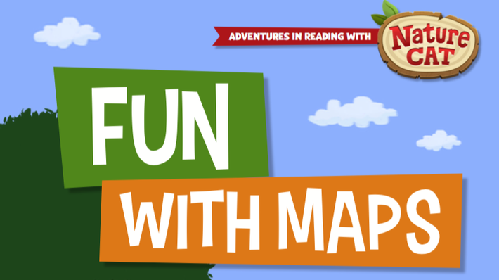 Nature Cat | Fun With Maps | 1+ 2