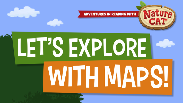 Nature Cat | Let's Explore With Maps! | 3