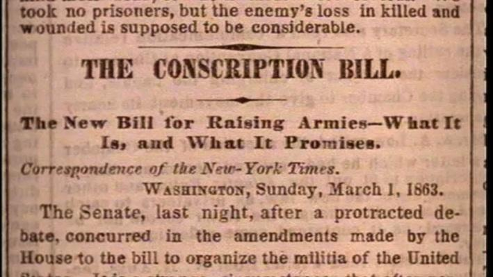 American Experience: New York, Episode 2--Riots Against Conscription