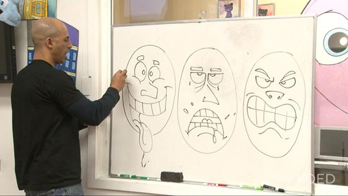 Happy, Sad, Mad: Cartoon Drawing with Sirron Norris | KQED Art School