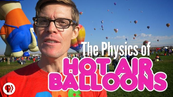 The REAL Physics of Hot Air Balloons! | It's Okay to Be Smart