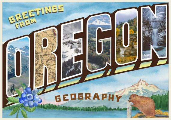 Great States | Oregon Geography