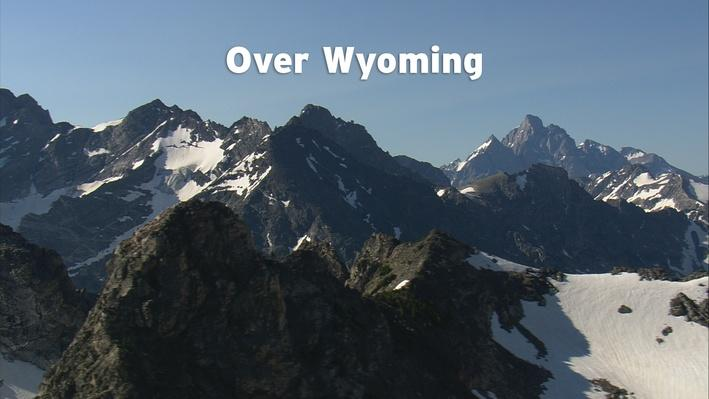 Over Wyoming:  Grades 3 and 4 Land Formation, Fossils, and Erosion, Video