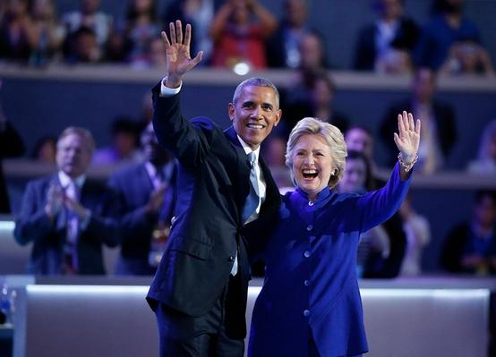 Obama Passes Baton to Clinton at DNC | PBS NewsHour