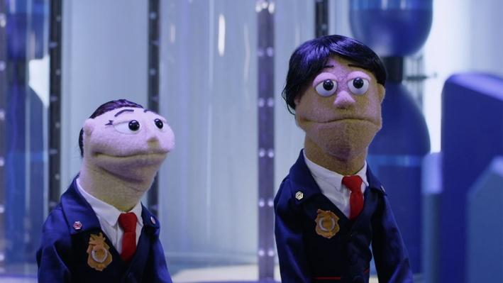 Olive and Otto are Puppets | The Odd Squad