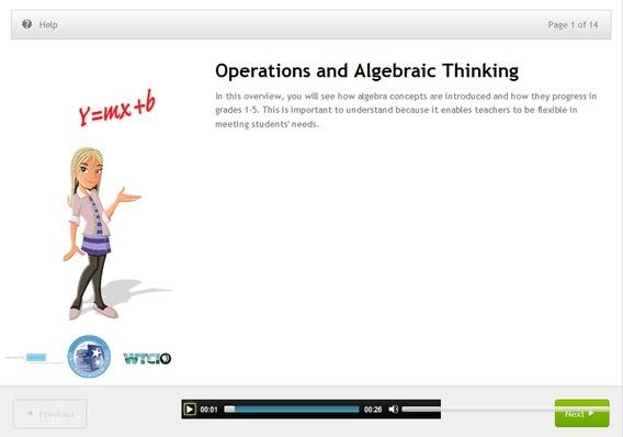 K-8 Algebraic Thinking