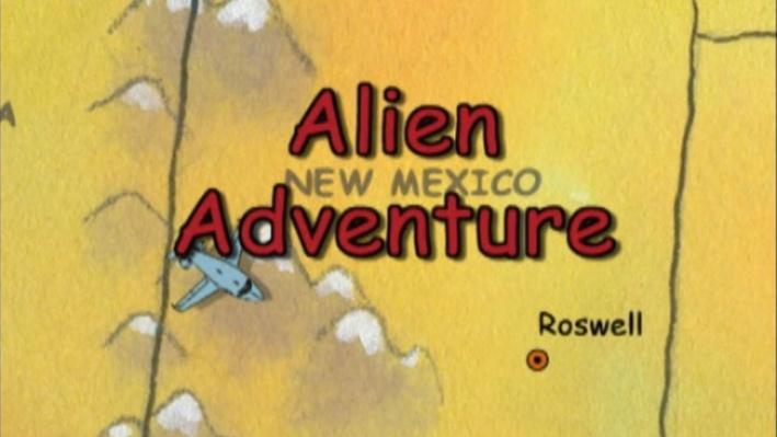 Postcards from Buster: Alien Adventure