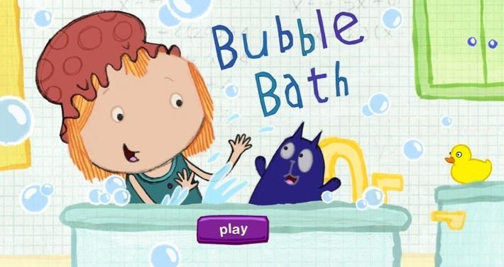 Bathtub Splash | Peg + Cat