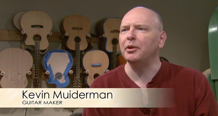 Kevin Muiderman: Guitar Maker, Thompson ND