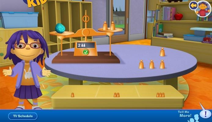 Pan Balance | Sid the Science Kid: Games