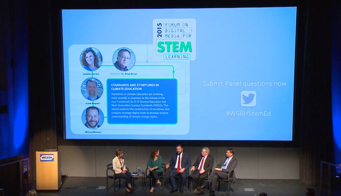 Panel 1: Standards and Storylines | Forum on Digital Media for STEM Learning 2015