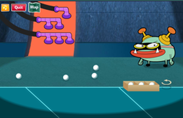 Ping-Pong Pickup - Cyberchase | PBS KIDS Lab