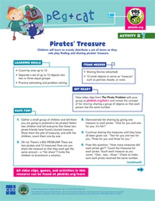 Pirate's Treasure   Peg + Cat