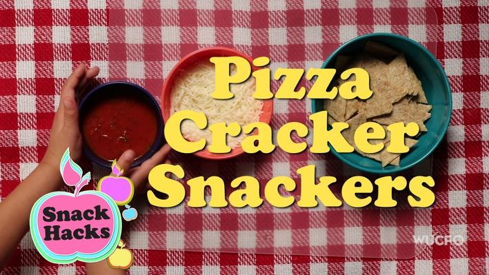 Snack Hacks | Pizza Cracker Snackers