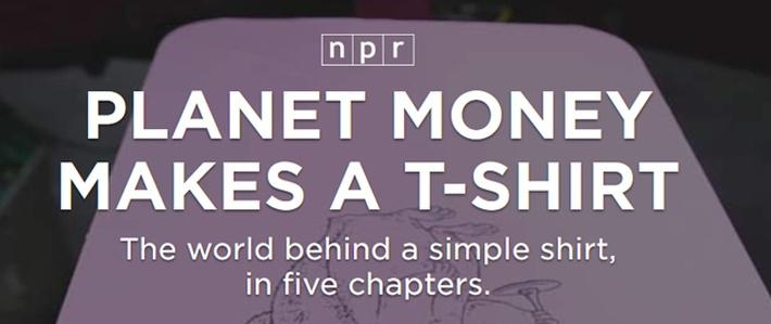 NPR's Planet Money makes a T-Shirt