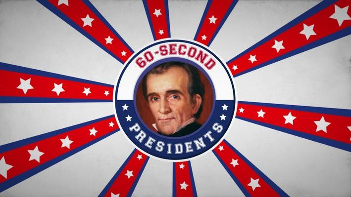 James Polk | 60-Second Presidents