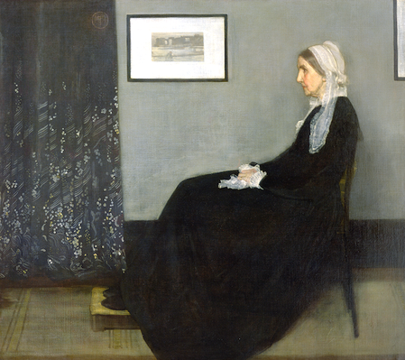 Arrangement in Grey and Black No.1: Portrait of the Artist's Mother, 1871 | James McNeill Whistler