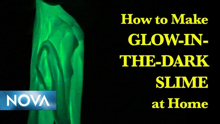 Gross Science | How to Make Glow-in-the-Dark Slime
