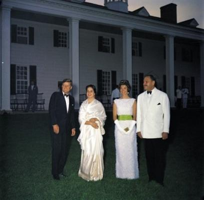 The Kennedys with the President of Pakistan Mohammad Ayub Khan and His Wife
