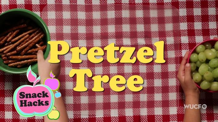 Snack Hacks | Pretzel Tree