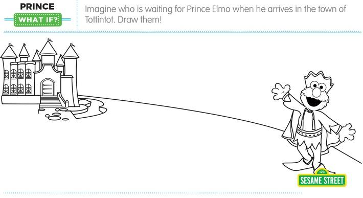 "Elmo the Musical: Prince ""What If"" Printable 