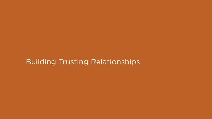 The Bad Kids | Building Trusting Relationships
