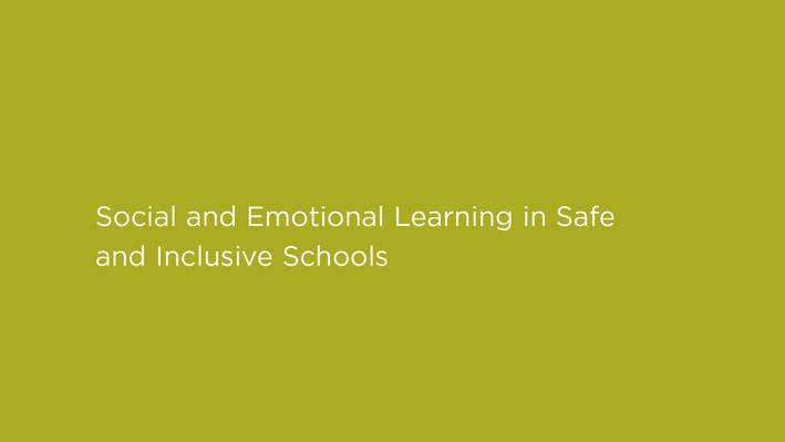 The Bad Kids | Social and Emotional Learning in Safe and Inclusive Schools