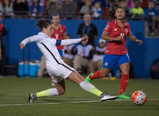 U.S. Women's Soccer Players Demand Equal Pay for Equal Play | PBS NewsHour