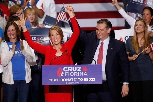 Cruz Picks a Running Mate, Trump Accuses Clinton of Playing 'Woman Card' Video