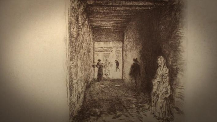 Whistler's Etchings: Recurring Themes | James McNeill Whistler: The Case for Beauty