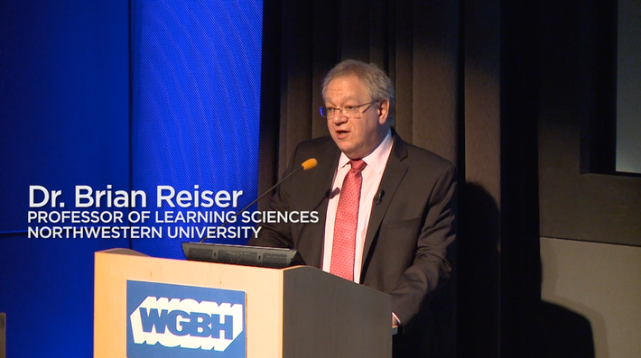 Dr. Brian Reiser | Forum on Digital Media for STEM Learning 2015