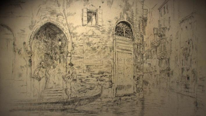 Whistler's Etchings: Reworking of a Single Copper Plate | James McNeill Whistler: The Case for Beauty