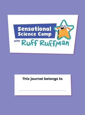 Cover page of Curiosity Journal