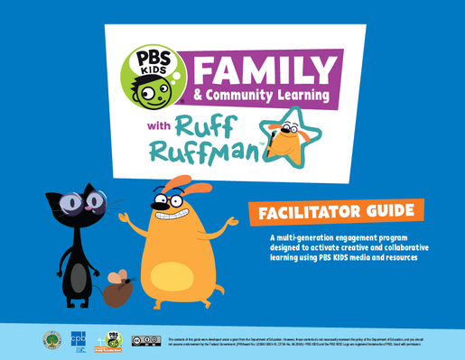Image of cover page of facilitator guide