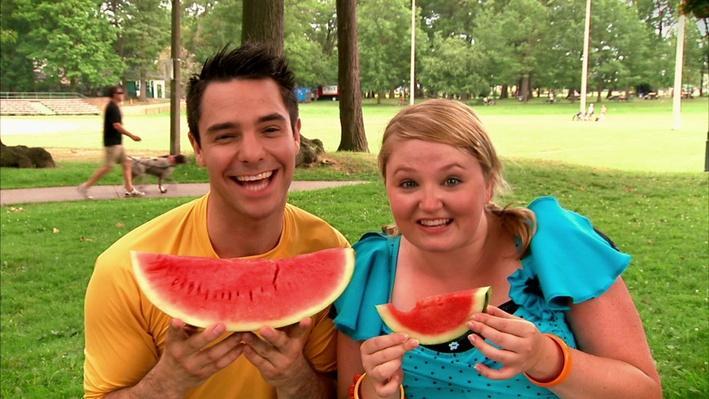 C'est l'été : Le melon d'eau   Les saisons de mini