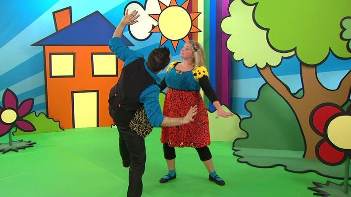La danse de la tortue | La danse des animaux