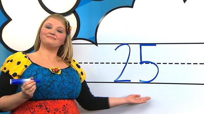 L'écriture du nombre 25 | L'écriture des nombres