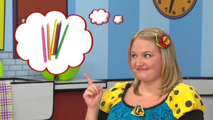 Il manque des crayons de couleur | Qu'est-ce qui manque?