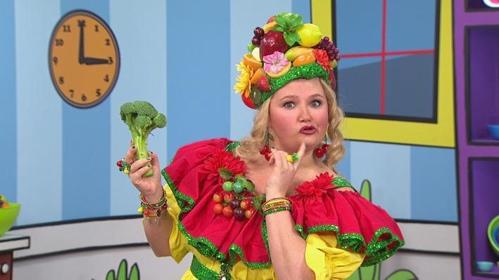 Brocoli   Madame Fruitée danse
