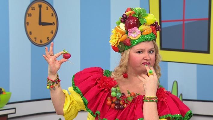 Radis | Madame Fruitée danse