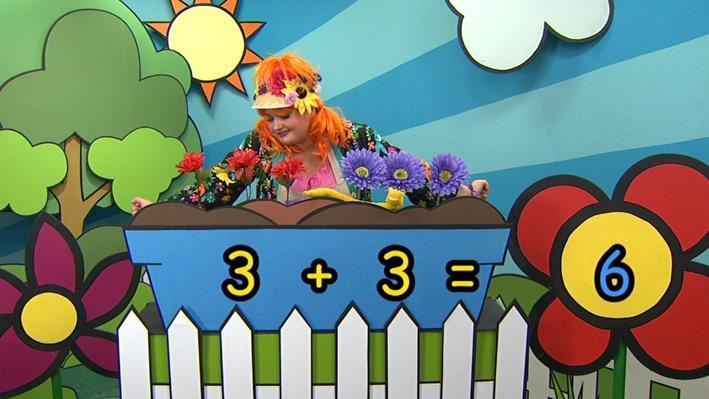 Trois plus trois | Combien de fleurs Fleurette?