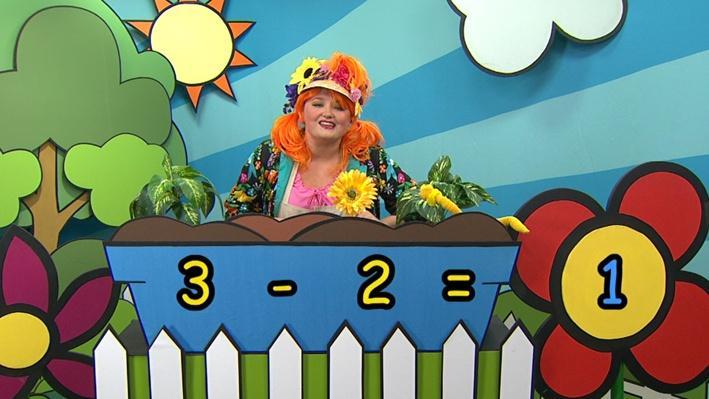 Trois moins deux | Combien de fleurs Fleurette?